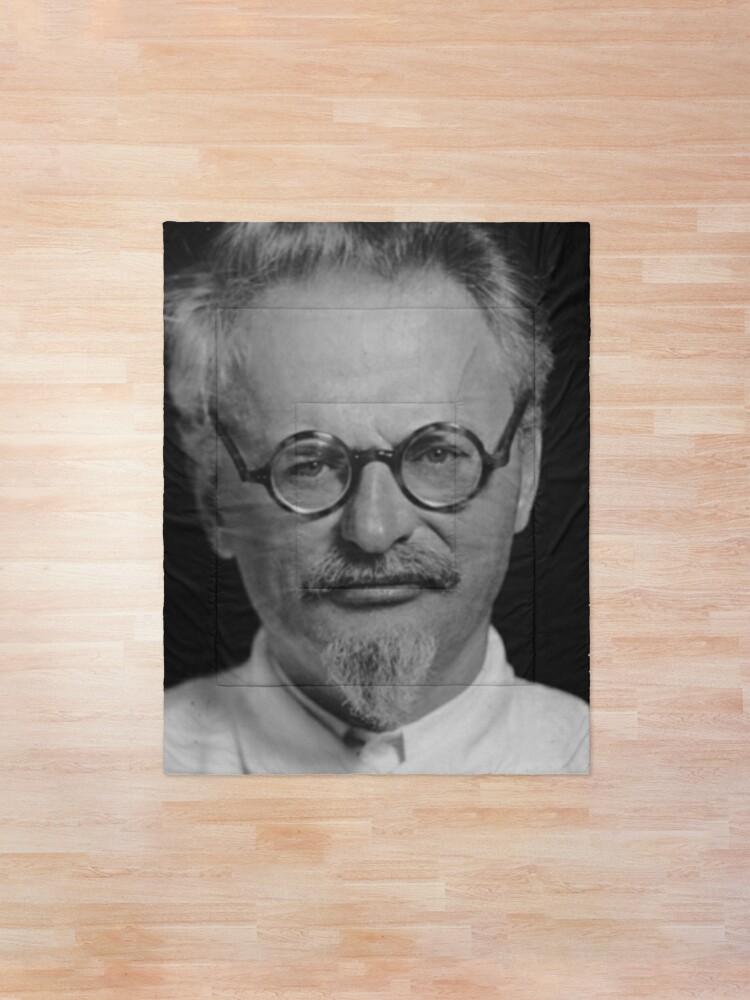 Alternate view of Lev Davidovich Bronstein, better known as Leon Trotsky, Revolutionary Comforter