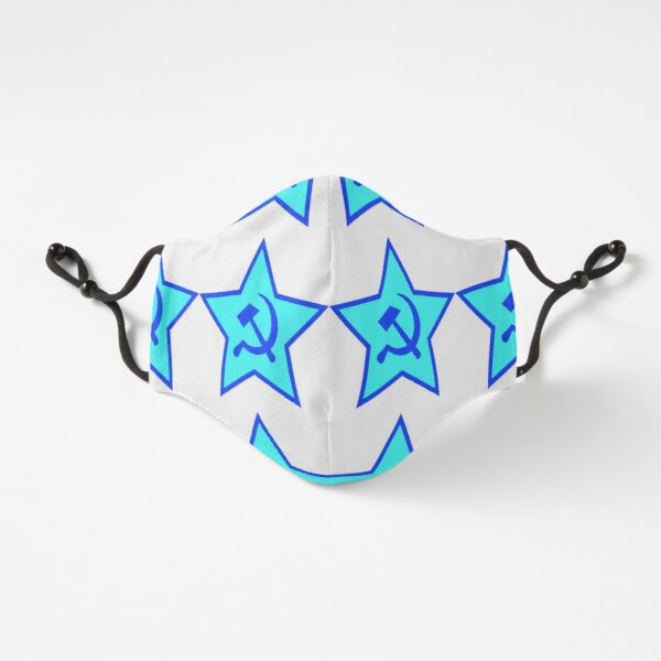 Blue Star, Hammer, and Sickle Fitted 3-Layer