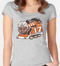 Wayne Train Women's Fitted Scoop T-Shirt