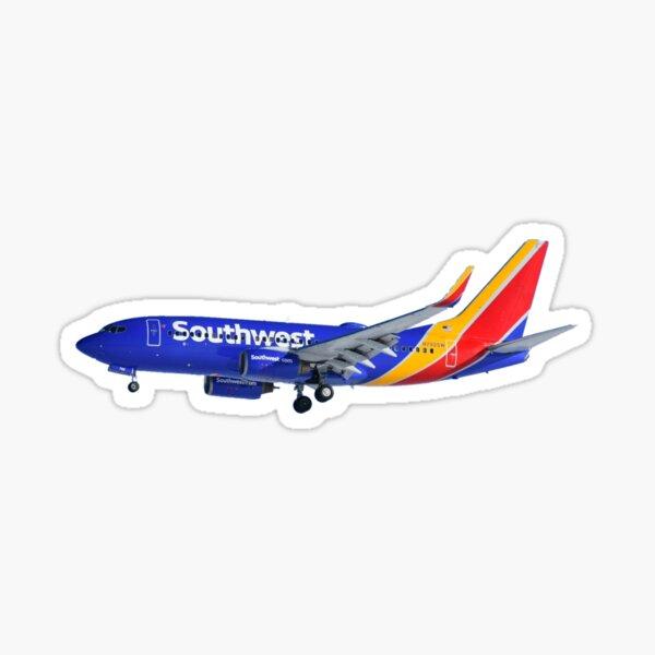 Southwest Airlines 737-700 Sticker