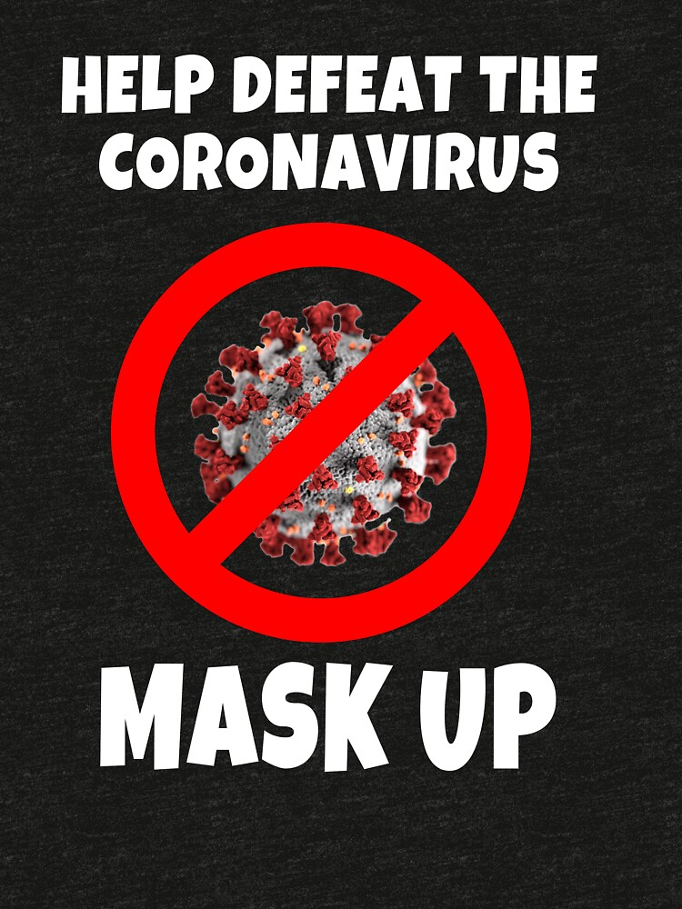 Defeat the Coronavirus Message by mikepil