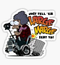 Large Marge Fink Sticker