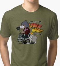 Large Marge Fink Tri-blend T-Shirt