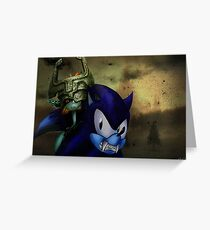 Sonic: Twilight Princess  Greeting Card