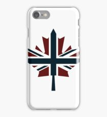 Anti Flag (Canada / UK Mix) iPhone Case/Skin