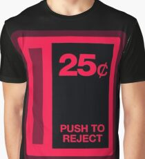 Arcade Coin Slot Graphic T-Shirt