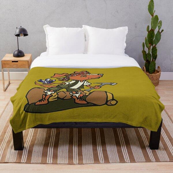Rockhound Throw Blanket