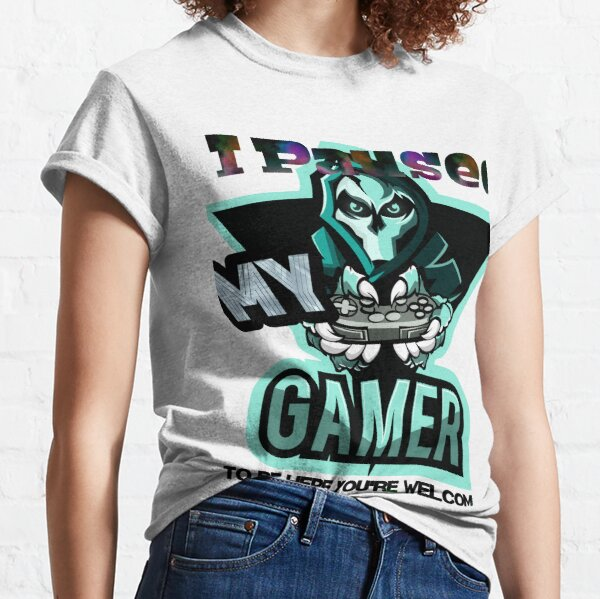i paused my game to be here boys t-shirts, i paused my game to be here youth t-shirts, i paused my game to be here christmas t-shirts T-shirt classique