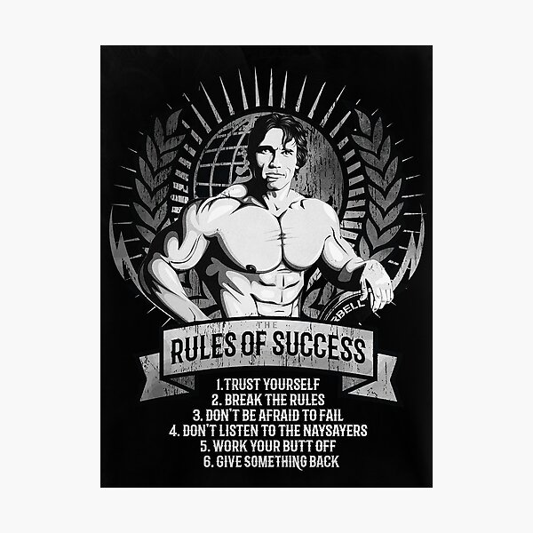 rules of success Photographic Print