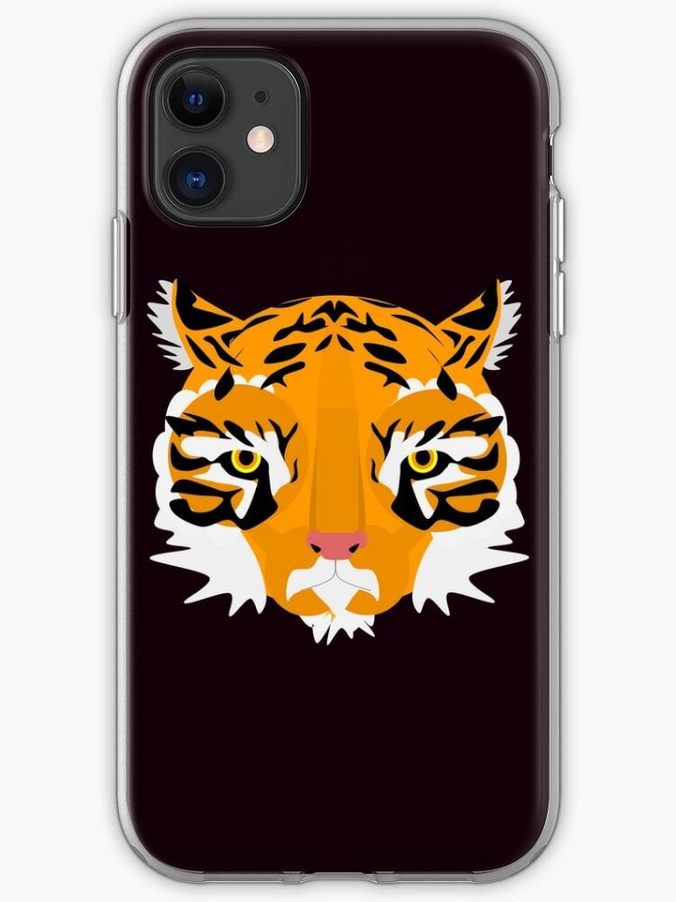 funda iphone tiger