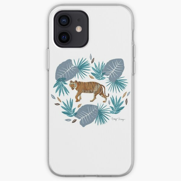 Tiger - pink  iPhone Soft Case