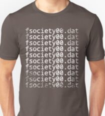 Mr. Robot - fsociety00.dat T-Shirt