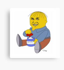 Jonah Hill as Ralph Wiggum Canvas Print