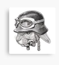 War Rabbit Canvas Print