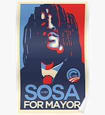 Chief Keef for mayor Poster
