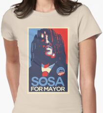 Chief Keef for mayor Womens Fitted T-Shirt