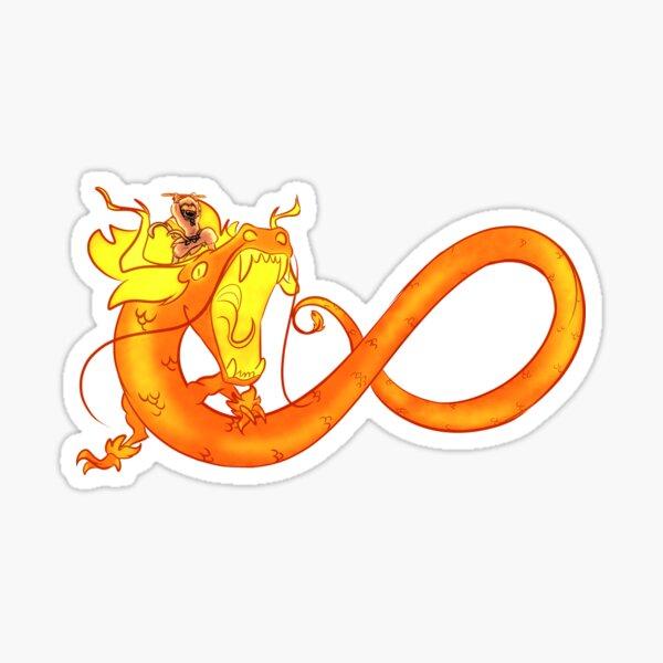 Viking Dragon Riders CharacterDragon Stickers #1