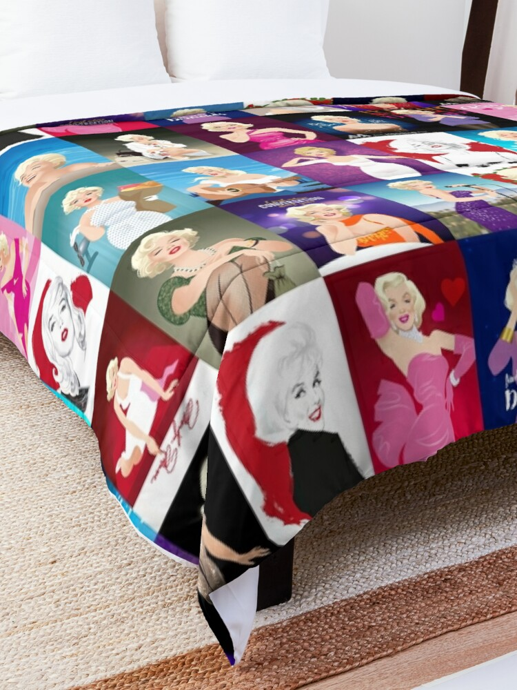 Alternate view of MM Patchwork Comforter