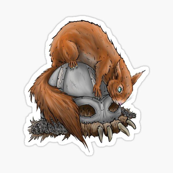 Eichhörnchen Ratatöskr  Sticker