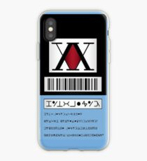 HXH HunterxHunter License iPhone Case