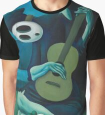 The Shy Guitarist Graphic T-Shirt