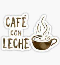 Café con leche Sticker