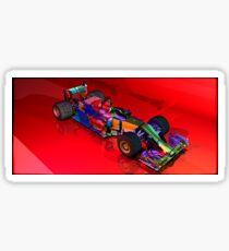 F1 sliced Sticker