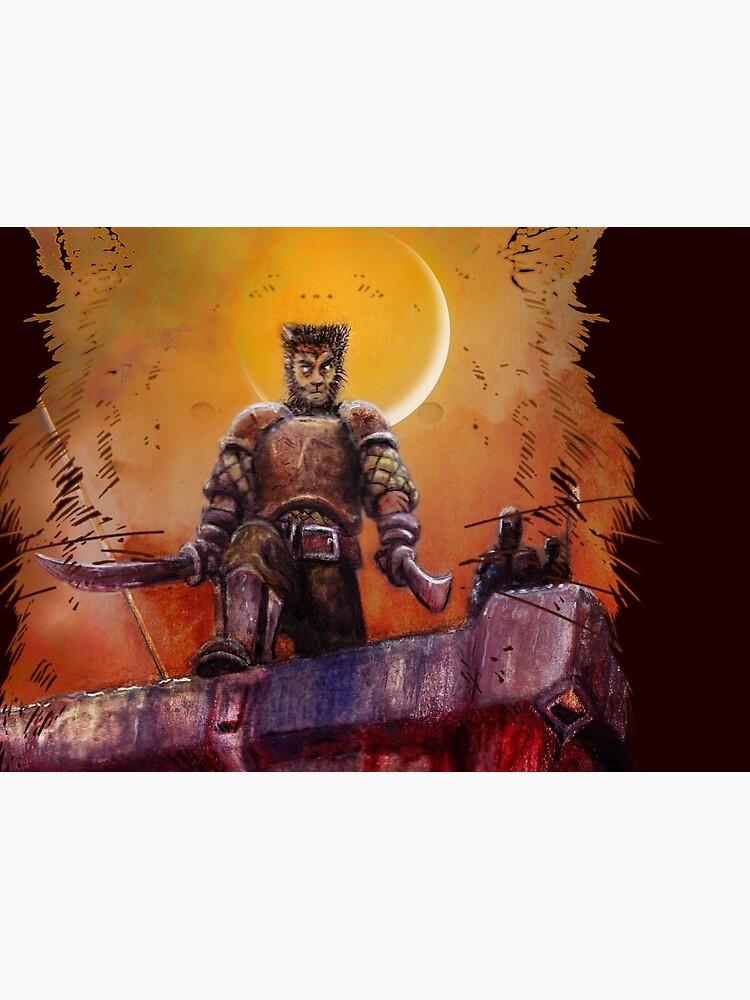The Tiger of Summer: Mortal Sword by PLUGOarts
