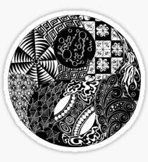 Order/Chaos - Yin/Yang Sticker