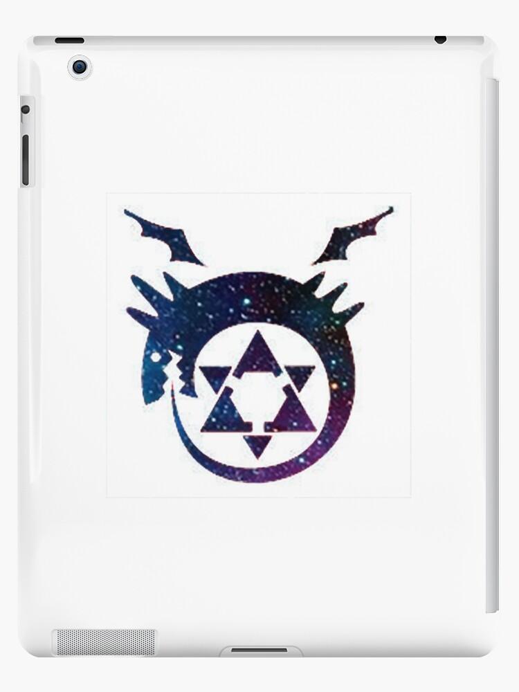 Fullmetal Alchimiste Ouroboros Tatouage Galaxie Coques Et Skins