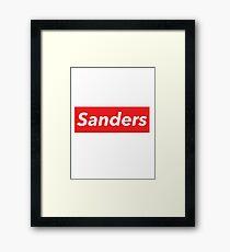 Sanders Framed Print