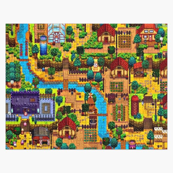 Stardew valley map  Jigsaw Puzzle