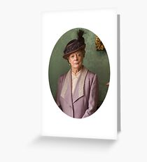 Lady Violet Downton Abbey Greeting Card
