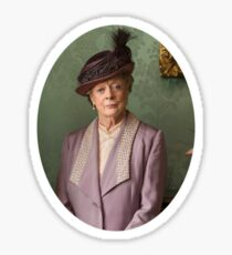 Lady Violet Downton Abbey Sticker