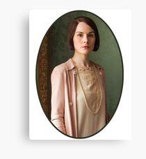 Lady Mary Crawley Canvas Print