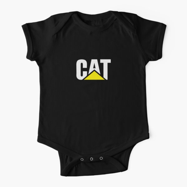 CAT Short Sleeve Baby One-Piece