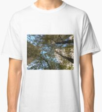 A Trio of Trees and Skyscrapers by Leebabe Classic T-Shirt