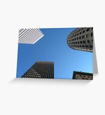 Downtown Providence by Leebabe Greeting Card