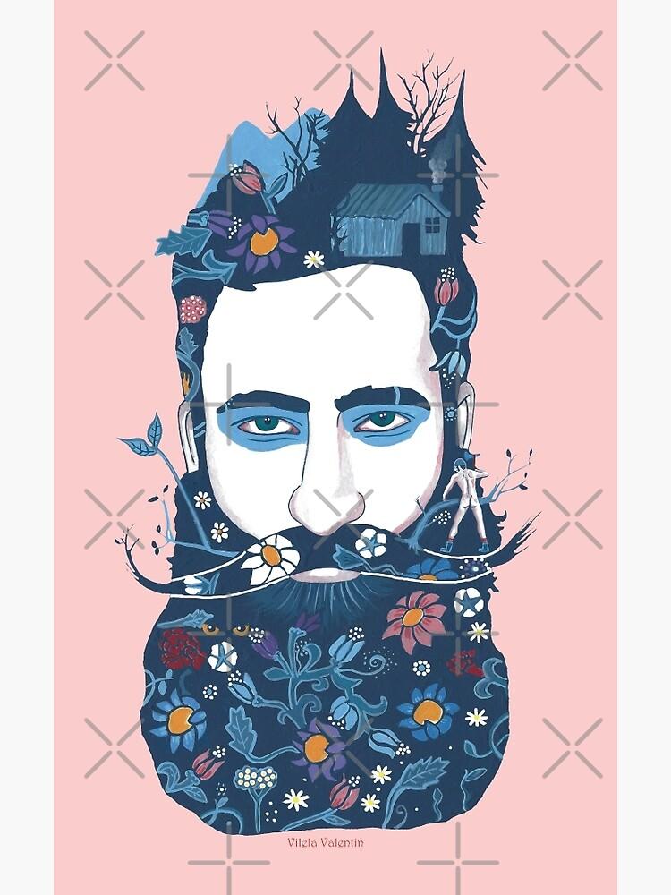 The little beard cutter by vilelavalentin