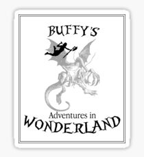 Buffy's  Adventures in Wonderland Sticker