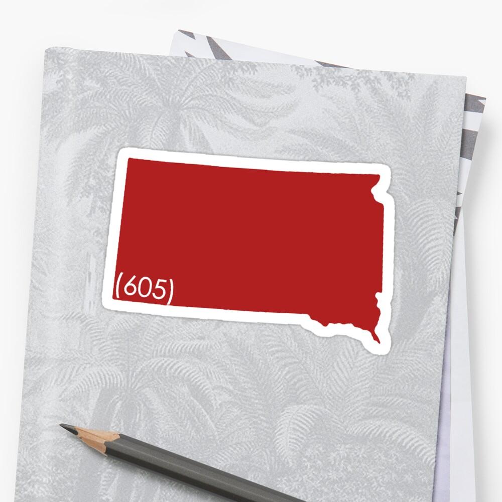 (605) South Dakota by dannyrf3