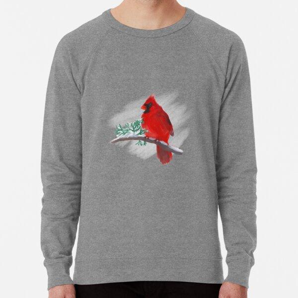 Wintertime Cardinal Lightweight Sweatshirt
