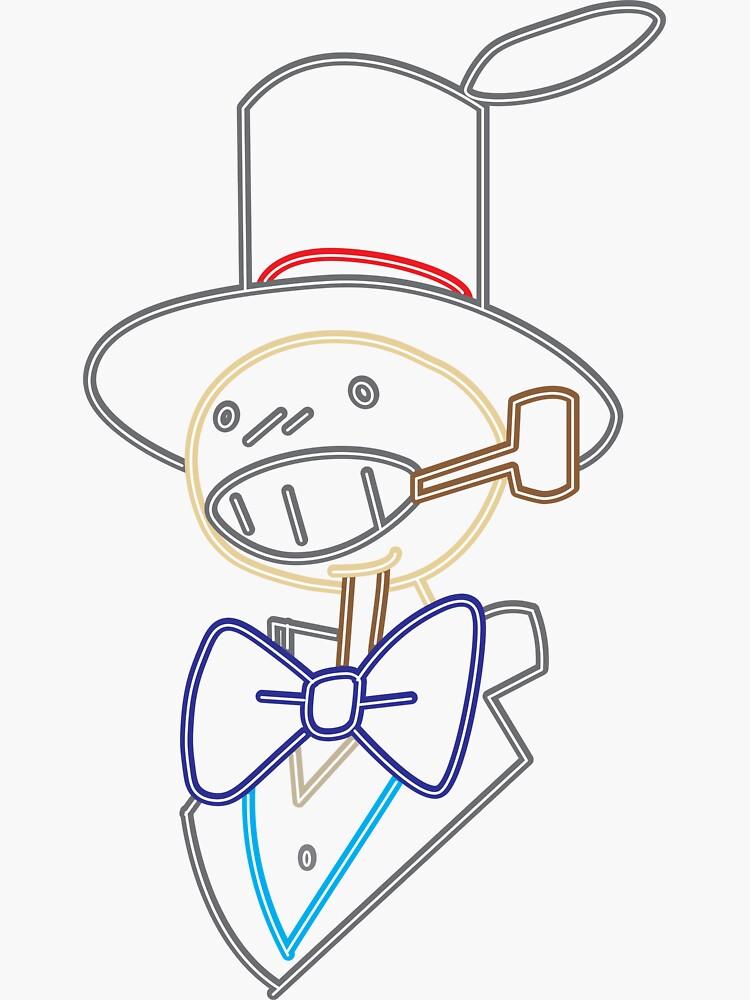 neon turnip head by tenmanchan