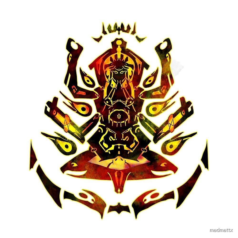 Meditation into madness  by madmattx