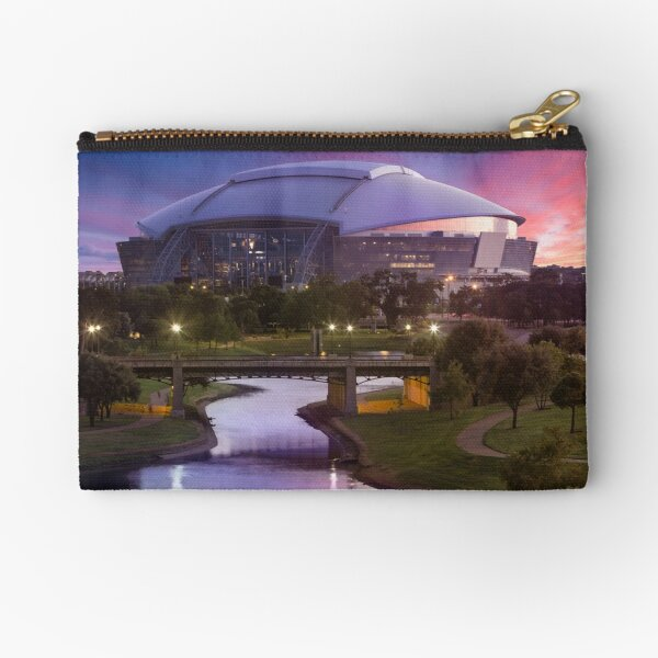 Dallas Cowboys Stadium - Arlington TX Zipper Pouch