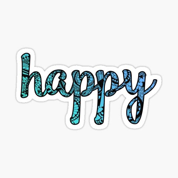 Happy Doodle Sticker