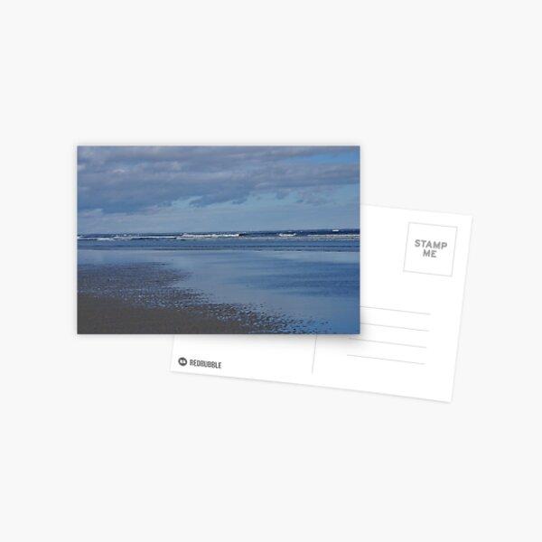 Ogunquit Maine ocean and sand scene Postcard
