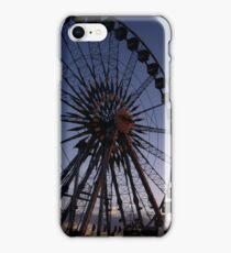 Night falls on the midway iPhone Case/Skin