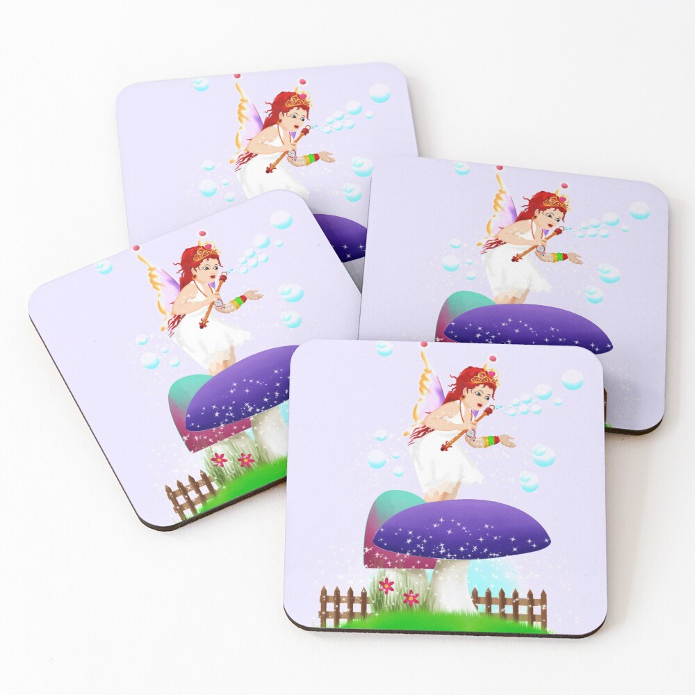 Chime The New Year's Fairy™ Coasters (Set of 4)