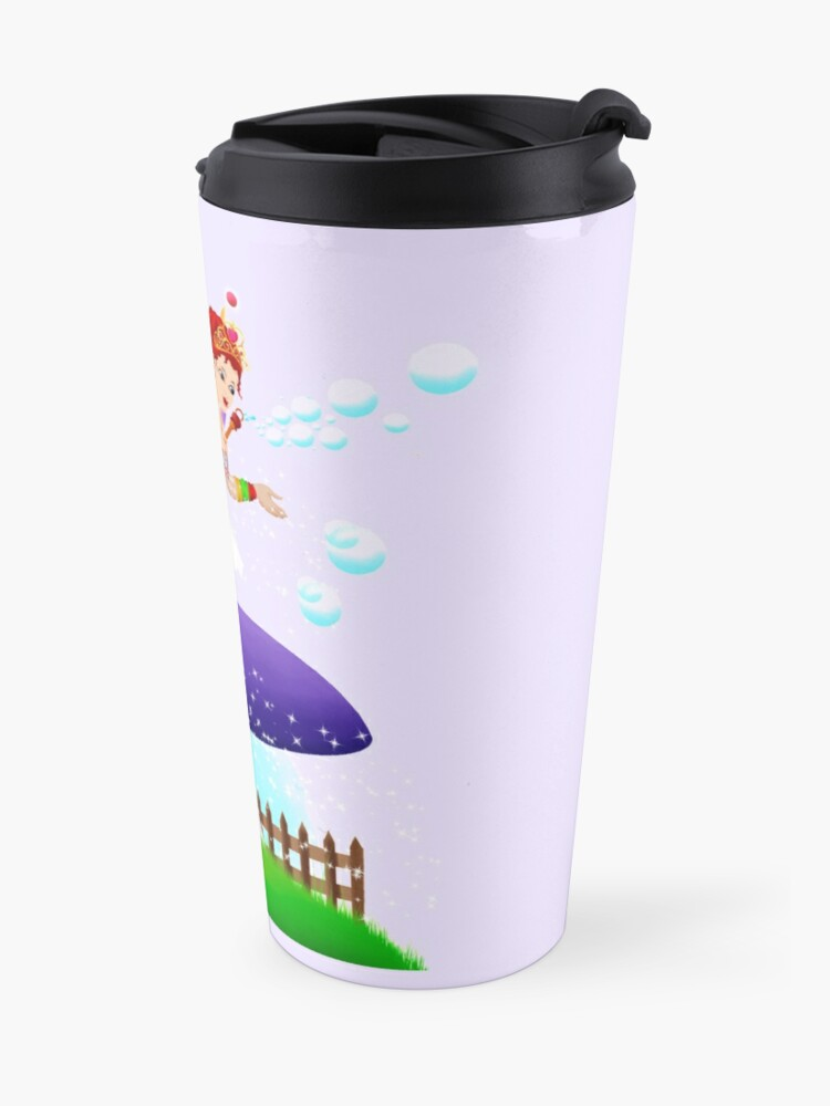 Alternate view of Chime The New Year's Fairy™ Travel Mug